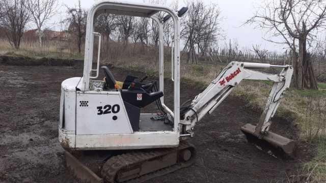 miniexcavator bobcat 2