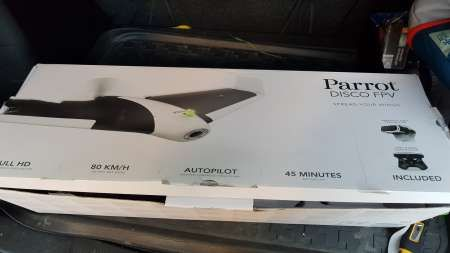 vand drona parrot disco - aripa zburatoare hd fpv, gps, autopilot, etc 2