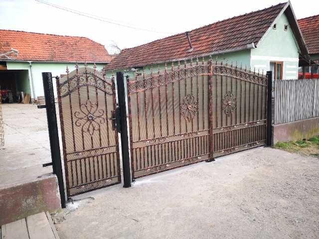 fier forjat, balustrade, panouri gard, porti metalice 2