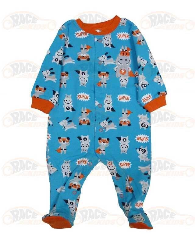 pijamale baietei ieftine din bumbac 1