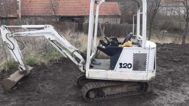 miniexcavator bobcat 1