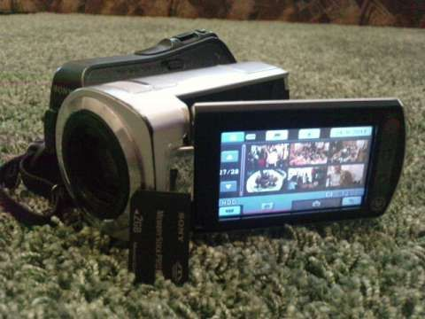 vand, camera, video, sony, dcr- sr35 10