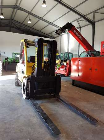 motostivuitor marca hyster model h5. 00 xm 2