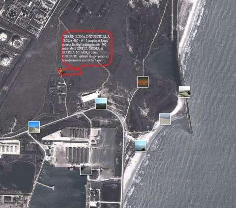 vanzare teren zona industriala la marea neagra in corbu ( constanta) 2