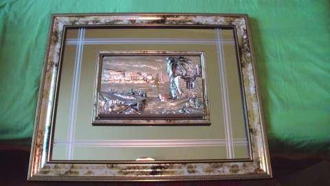 vand tablou din argint 925 lm italia 2