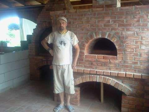 construiesc cuptoare pizza, paine, bbq, seminee, beciuri piatra( caramida) 5