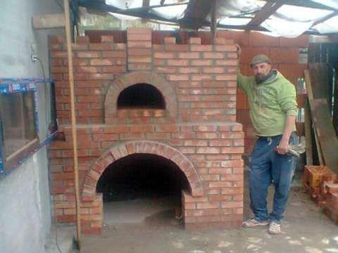 cuptoare pentru pizza si paine din caramida 1