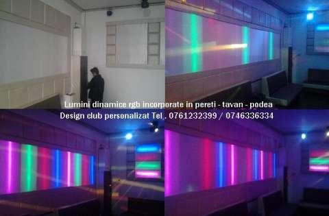 lumini club led rgb pixeli . canapele club 1