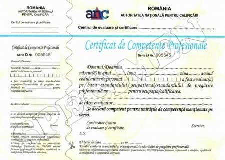 diplome de calificare recunoscute 2
