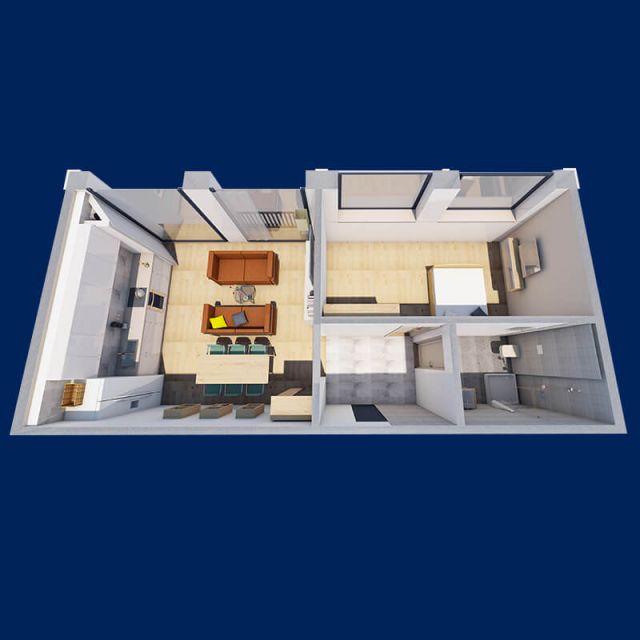 apartamente cu 2 camere ├оn sebes 3