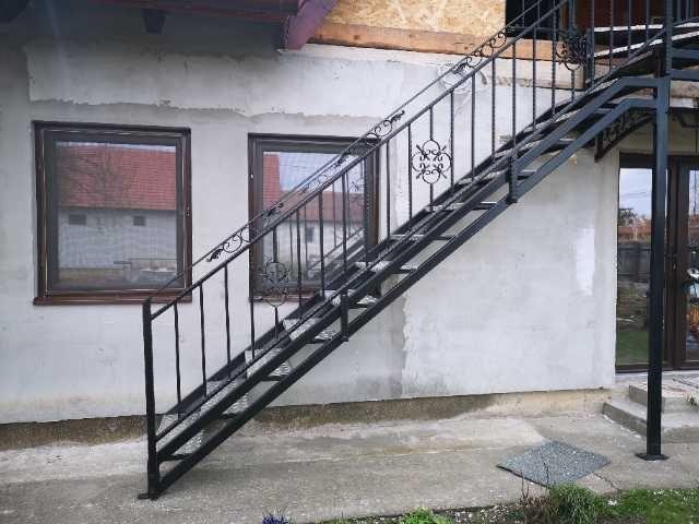 fier forjat, balustrade, panouri gard, porti metalice 3