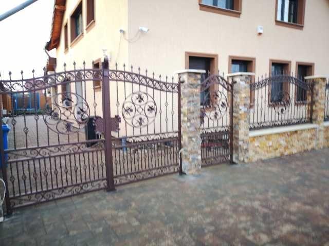 fier forjat, balustrade, panouri gard, porti metalice 1