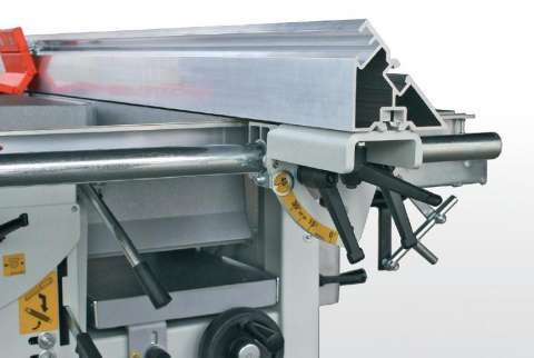 masina universala de tamplarie cu 5 operatii bravissima - sicar 3