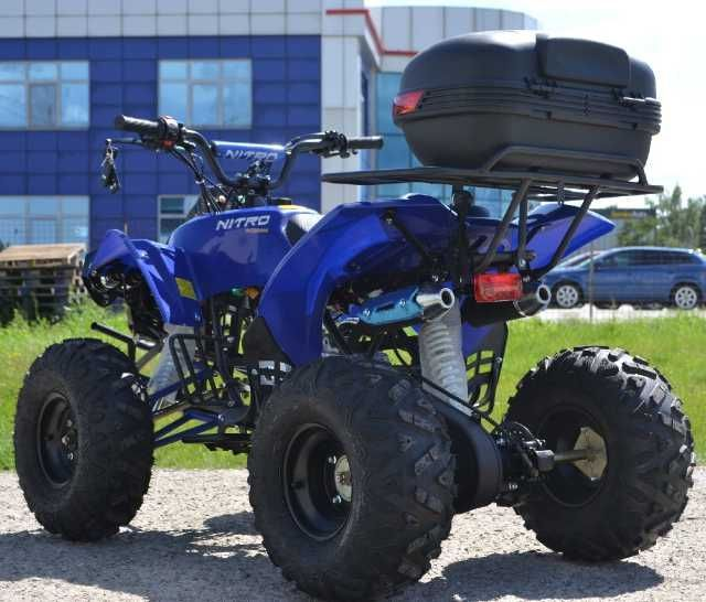 ! promotie ! atv nitro motors warrior led 3g m8, 2021, semi- automat 2