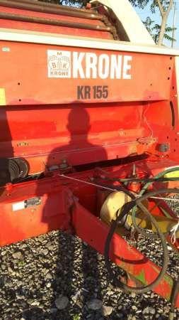 presa de balotat rotunda krone kr 155 3