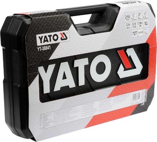 trusa scule profesionala 216 piese yato yt- 3