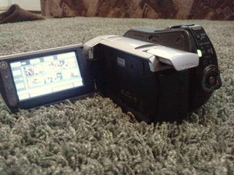 vand, camera, video, sony, dcr- sr35 7