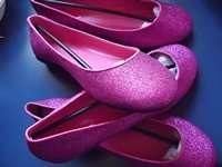 pantofi dama marimi mari comozi glitter sclipici 41 si 43 noi 2