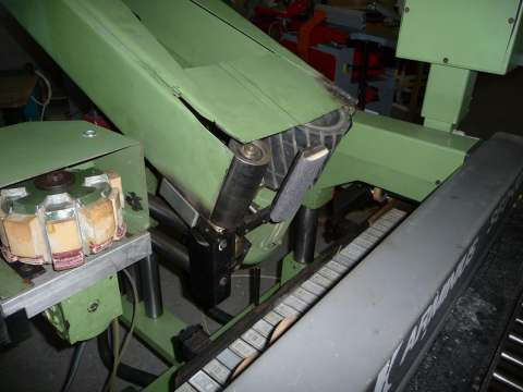 masina de slefuit cu banda si disc profilat arminius 4