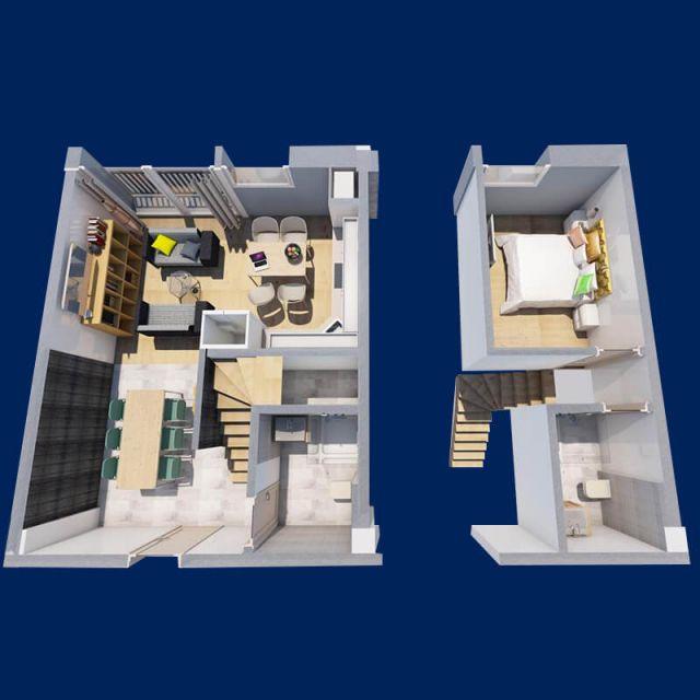 apartamente cu 2 camere ├оn sebes 4