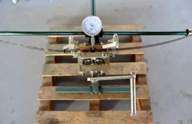 fierastrau pentru fixarea dintilor ( sawmill blade tooth setter) lenker dws- 2 3