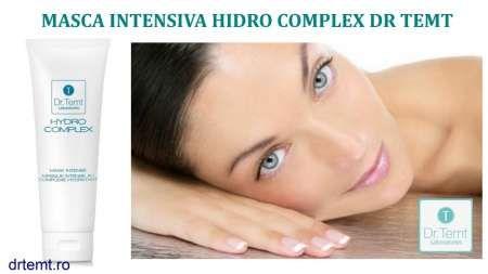 masca hidro complex intens hidratanta cu doua tipuri de molecule de acid hialuronic dr. temt 8
