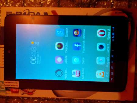 "tableta pc android 4. 1. 1 eboda essential a 200 ecran 7"" 5"