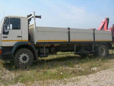 vand camion man cu macara 5