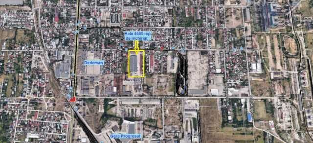 hala industriala 4. 665 mp + teren 8. 500 mp 2