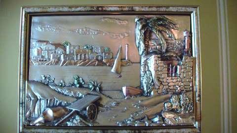 vand tablou din argint 925 lm italia 5