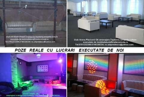lumini club led rgb pixeli . canapele club 6